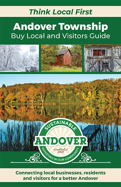 Sustainable Andover guide cover